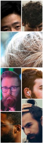 tipi di capelli in base alle gare Microfue