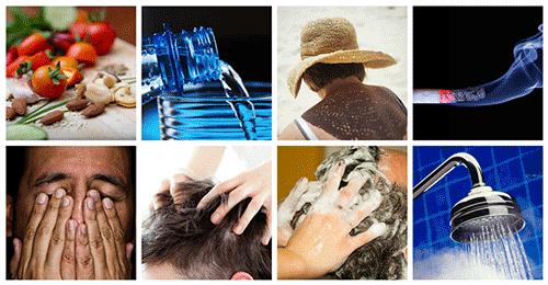 consigli per capelli sani Microfue