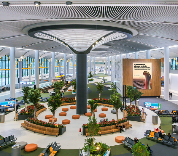 IGA isl istanbul aeroporto