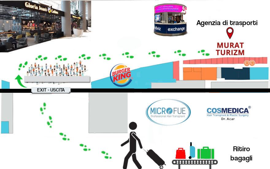 Agenzia di trasporti istanbul microfue