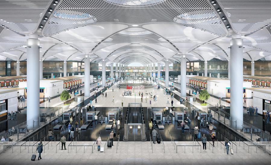aeroporto istanbul microfue