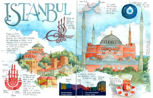 illustrazione Istanbul trapianto capelli
