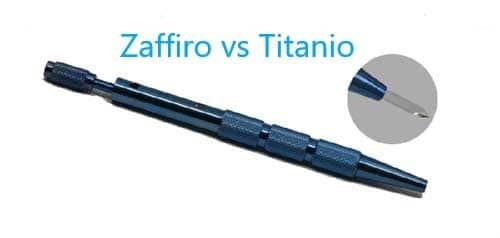 Zaffiro vs Titanio